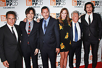 NEW YORK, NY October 01, 2017 Ben Stiller, Noah Baumbach, Adam Sandler, Elizabeth Marvel, Dustin Hoffman, Adam Driver attend 55th New York Film Festival premiere of The Meyerowitz Stories at Alice Tully Hall Lincoln Center in New York October 01,  2017.<br /> CAP/MPI/RW<br /> &copy;RW/MPI/Capital Pictures