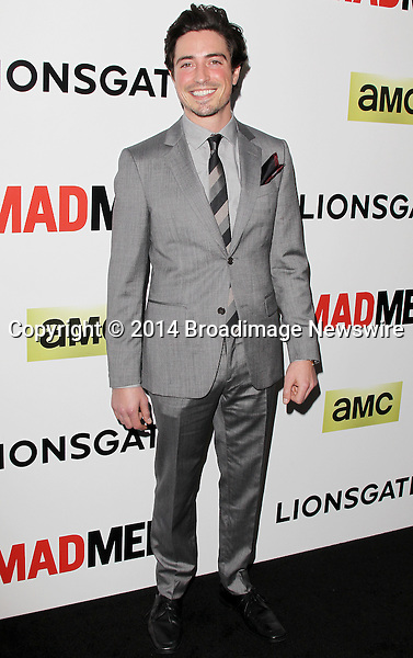 Pictured: Ben Feldman<br /> Mandatory Credit &copy; Frederick Taylor/Broadimage<br /> &quot;Mad Men&quot; Season 7 Premiere <br /> <br /> 4/2/14, Hollywood, California, United States of America<br /> <br /> Broadimage Newswire<br /> Los Angeles 1+  (310) 301-1027<br /> New York      1+  (646) 827-9134<br /> sales@broadimage.com<br /> http://www.broadimage.com