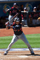 15 March 2009: #24 Seiichi Uchikawa of Japan is seen at bat during the 2009 World Baseball Classic Pool 1 game 1 at Petco Park in San Diego, California, USA. Japan wins 6-0 over Cuba.
