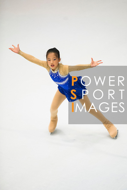 Chia Hsin Shih in the during the Asian Junior Figure Skating Challenge 2015 on October 07, 2015 in Hong Kong, China. Photo by Aitor Alcalde/ Power Sport Images