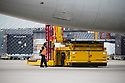 05/03/20<br /> <br /> Bound for Melbourne, F1 cargo is loaded at DHL East Midland's hub ahead of the first race of the year in Australia.<br /> <br /> <br /> All Rights Reserved: F Stop Press Ltd.  <br /> +44 (0)7765 242650 www.fstoppress.com