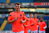 Blackburn Rovers' Matthew Platt warms up with his team-mates<br /> <br /> Photographer Richard Martin-Roberts/CameraSport<br /> <br /> The Carabao Cup First Round - Tuesday 13th August 2019 - Blackburn Rovers v Oldham Athletic - Ewood Park - Blackburn<br />  <br /> World Copyright © 2019 CameraSport. All rights reserved. 43 Linden Ave. Countesthorpe. Leicester. England. LE8 5PG - Tel: +44 (0) 116 277 4147 - admin@camerasport.com - www.camerasport.com