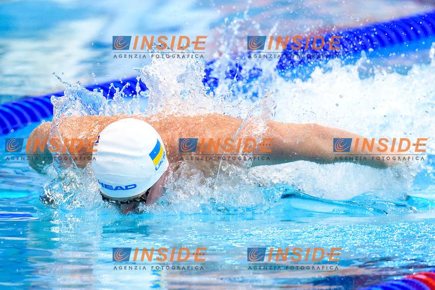 Oleksiy IVANOV UKR<br /> 50m Butterfly Men Preliminary   <br /> London, Queen Elizabeth II Olympic Park Pool <br /> LEN 2016 European Aquatics Elite Championships <br /> Diving  <br /> Day 08 16-05-2016<br /> Photo Andrea Staccioli/Deepbluemedia/Insidefoto