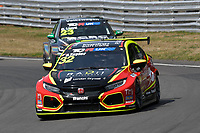 #32 Oliver TAYLOR (GBR) Pyro Motorsport Honda Civic Type-R TCR 2018  during TCR UK Championship Race One as part of the BRSCC TCR UK Race Day Oulton Park  at Oulton Park, Little Budworth, Cheshire, United Kingdom. August 04 2018. World Copyright Peter Taylor/PSP. Copy of publication required for printed pictures.