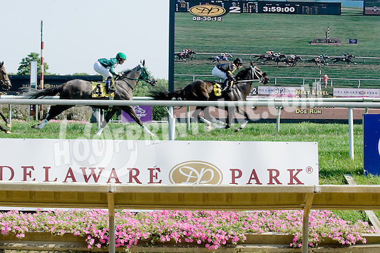 Daydreamin Gracie winning at Delaware Park on 8/30/12