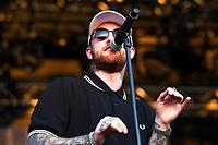 Mac Miller live auf dem Float Fest 2017 auf der Cool River Ranch. Martindale, 22.07.2017
