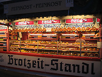 Pretzel stand at Oktoberfest - Munich, Germany