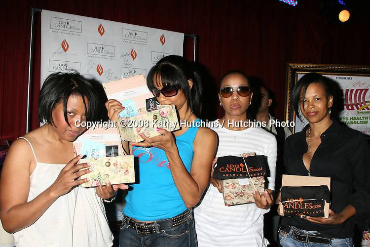 En Vogue at the BET Awards GBK Gifting Lounge outside the Shrine Auditorium in Los Angeles, CA on.June 23, 2008.©2008 Kathy Hutchins / Hutchins Photo .