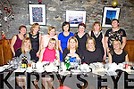 Ladies from Portmagee enjoying their Women's Christmas Night out in Camos Restaurant pictured here front l-r; Mary Devane, Eileen Riordan, Geraldine O'Sullivan, Ann Maria O'Sullivan, Martina O'Sullivan, back l-r; Mary Keating, Michelle O'Sullivan, Caroline McGeever, Catriona O'Sullivan, Colette Murphy, Breda Keating & Mary Denise O'Sullivan.