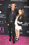 SANTA MONICA, CA- OCTOBER 18: Hair stylist Chaz Dean (L) and niece Alexia Quinn attend Elyse Walker presents the 10th anniversary Pink Party hosted by Jennifer Garner and Rachel Zoe at HANGAR 8 on October 18, 2014 in Santa Monica, California.