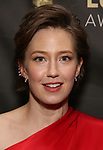 Carrie Coon attends the 33rd Annual Lucille Lortel Awards on May 6, 2018 in New York City.
