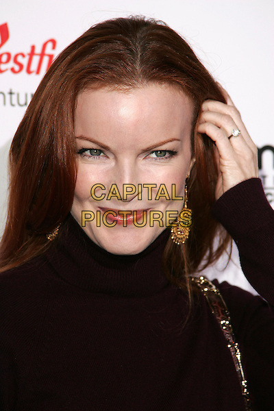 "MARCIA CROSS.""The Producers"" World Premiere held at the Westfield Century City, Century City, California..December 12th, 2005.Photo: William Scott/AdMedia/Capital Pictures.Ref: WS/ADM.headshot portrait gold earrings.www.capitalpictures.com.sales@capitalpictures.com.© Capital Pictures."