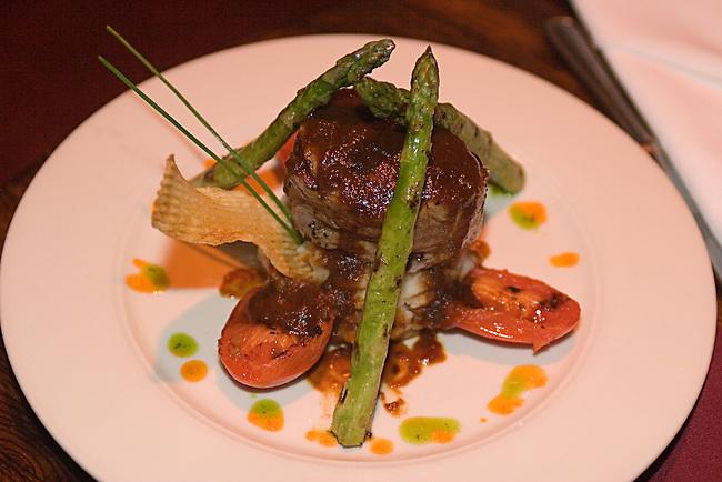 Greenwich Village, Garage Restaurant, Filet Mignon Dish, New York, New York