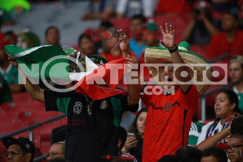 Ambiente previo al  partido entre las selecciones de Mexico y Guatemala  de la Copa Oro CONCACAF 2015. Estadio de la Universidad de Arizona.<br /> Phoenix Arizona a 12 de Julio 2015.