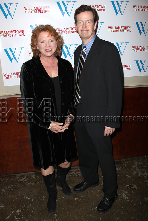Becky Ann Baker & Dylan Baker.attending the Williamstown Theatre Festival's 2010 New York City Benefit held at the Prince George Ballroom on East 27th Street  in New York City.