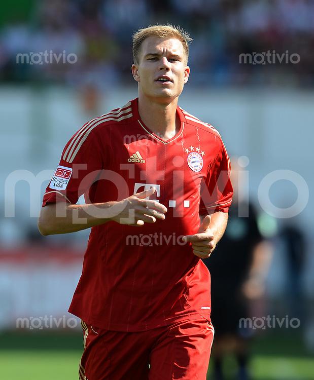Fussball 1. Bundesliga :  Saison   2012/2013   1. Spieltag  25.08.2012 SpVgg Greuther Fuerth - FC Bayern Muenchen Holger Badstuber (FC Bayern Muenchen)
