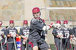 Manhattan Beach, CA 02-11-17 - Jonathan Van der Velden (Santa Clara #2) in action during the MCLA non-conference game between LMU (SLC) and Santa Clara (WCLL).  Santa Clara defeated LMU 18-3.