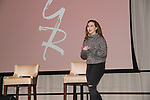 The Young and The Restless actor Camryn Grimes on February 16, 2019 for a fan q & a, meet and great with autographs and photo taking hosted by Soap Opera Festival's Joyce Becker at the Hollywood Casino in Columbus, Ohio. (Photos by Sue Coflin/Max Photos)