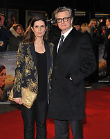 Livia Firth and Colin Firth at the &quot;The Mercy&quot; world film premiere, Curzon Mayfair cinema, Curzon Street, London, England, UK, on Tue 06 February 2018.<br /> CAP/CAN<br /> &copy;CAN/Capital Pictures