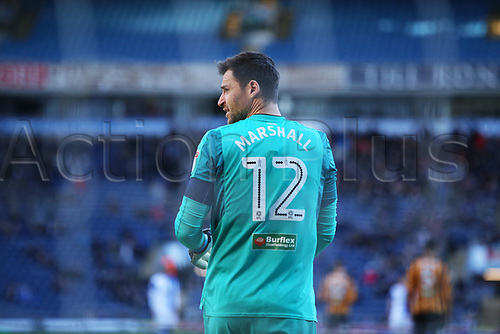 6th January 2018, Ewood Park, Blackburn England; FA Cup football, 3rd round, Blackburn Rovers versus Hull City; Hull City goalkeeper David Marshall