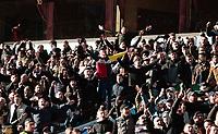Aston Villa fans during the Sky Bet Championship match between Aston Villa and Birmingham City at Villa Park, Birmingham, England on 11 February 2018. Photo by Bradley Collyer/PRiME Media Images.