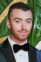 Sam Smith<br /> arriving for The Fashion Awards 2017 at the Royal Albert Hall, London<br /> <br /> <br /> ©Ash Knotek  D3356  04/12/2017