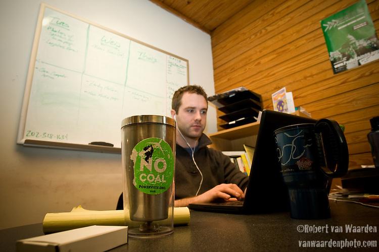 Jake Brewer - Power Shift '09 Team (©Robert vanWaarden ALL RIGHTS RESERVED)