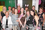 HENS ON TOUR: Mary McAuliffe, Castleisland (front centre) enjoying her hen night in Tralee with her family and friends on Saturday night.   Copyright Kerry's Eye 2008