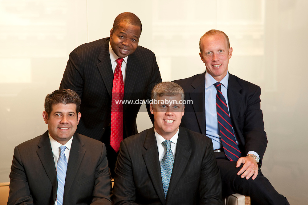 (LtoR) Andrew S. Goodstadt, Kenneth P. Thompson, Scott Browning Gilly and Douglas H. Wigdor, attorneys, Thompson Wigdor & Gilly LLP, New York, USA, 7 July 2009.