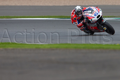 26th August 2017, Silverstone Circuit, Northamptonshire, England; British MotoGP, Qualifying; OCTO Pramac Racing MotoGP rider Scott Redding