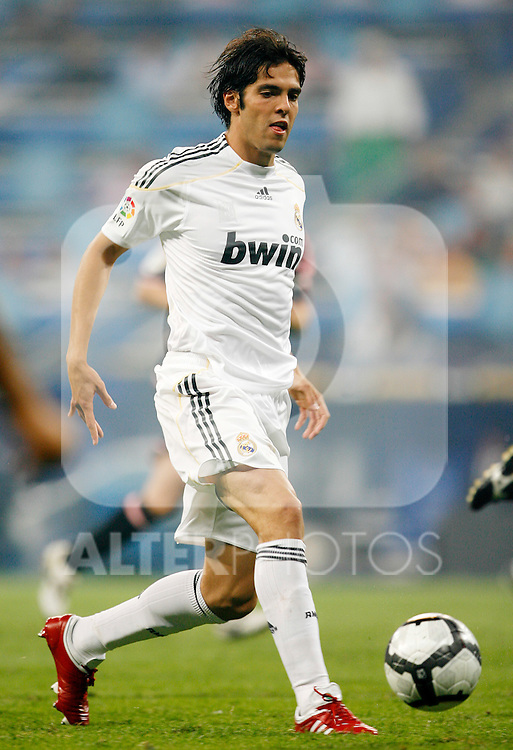 Real Madrid's Kaka during La Liga match.August 29 2009. (ALTERPHOTOS/Acero).