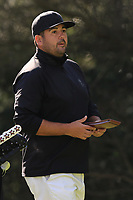 Joel Sjoholm (SWE) on the 8th tee during Round 2 of the Challenge Tour Grand Final 2019 at Club de Golf Alcanada, Port d'Alcúdia, Mallorca, Spain on Friday 8th November 2019.<br /> Picture:  Thos Caffrey / Golffile<br /> <br /> All photo usage must carry mandatory copyright credit (© Golffile | Thos Caffrey)