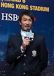 Mr Dai Rees, Head of Performance and Coaching at HKRFU, and Hong Kong player Yiu Kam Shing (Salom) are interviewed during the Cathay Pacific/HSBC Hong Kong Sevens 2013 Official Draw held at Hysan Place, Hong Kong on 21st February 2013. Photo Raf Sanchez / The Power of Sport Images
