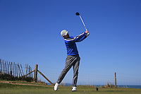 Callum Fern during Round Two of the West of England Championship 2016, at Royal North Devon Golf Club, Westward Ho!, Devon  23/04/2016. Picture: Golffile | David Lloyd<br /> <br /> All photos usage must carry mandatory copyright credit (&copy; Golffile | David Lloyd)