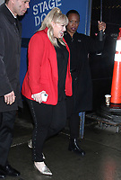 NEW YORK, NY - February 08: Rebel Wilson seen exiting Good Morning America in New York City on February 08, 2019. Credit: RW/MediaPunch<br /> CAP/MPI99<br /> &copy;MPI99/Capital Pictures