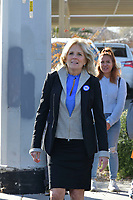 Las Vegas, NV - FEBRUARY 15: Jill Biden at Doolittle Community Center ahead of for the first day of early voting in North Las Vegas, Nevada on February 15, 2020.    <br /> CAP/MPI/DAM<br /> ©DAM/MPI/Capital Pictures