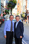 Victor and Paddy Dwyer in Shop Street<br /> Picture: www.newsfile.ie