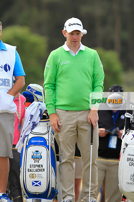 Stephen GALLACHER (SCO) during round 4 of  The 142th Open Championship Muirfield, Gullane, East Lothian, Scotland 21/7/2013<br /> Picture Eoin Clarke www.golffile.ie: