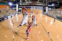 31 December 2009:   FIU's Marvin Roberts (11) shoots in the second half as the South Alabama Jaguars defeated the FIU Golden Panthers, 71-59, at the U.S. Century Bank Arena in Miami, Florida.