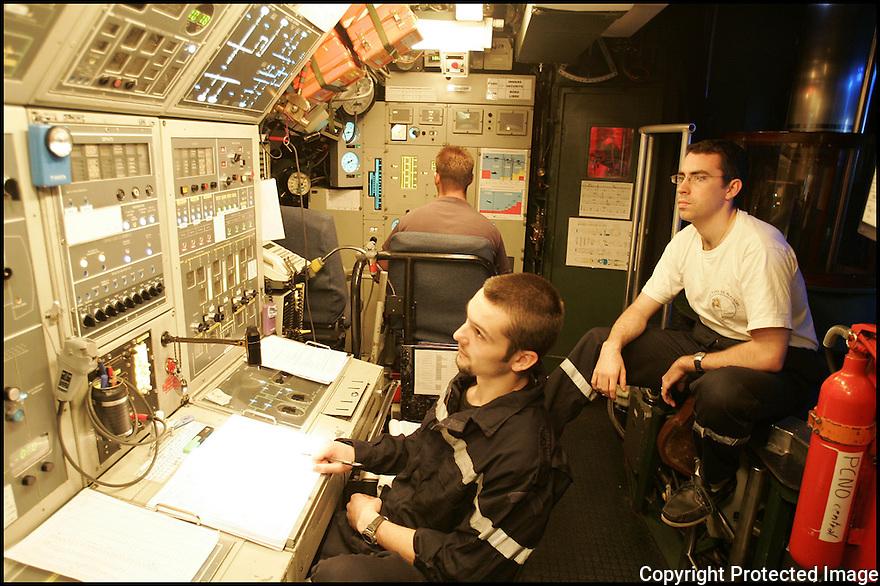 SNA Saphir,<br /> Sous-marin nucl&eacute;aire d'attaque.