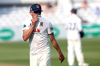 Frustration for Aaron Beard of Essex during Essex CCC vs Warwickshire CCC, Specsavers County Championship Division 1 Cricket at The Cloudfm County Ground on 21st June 2017