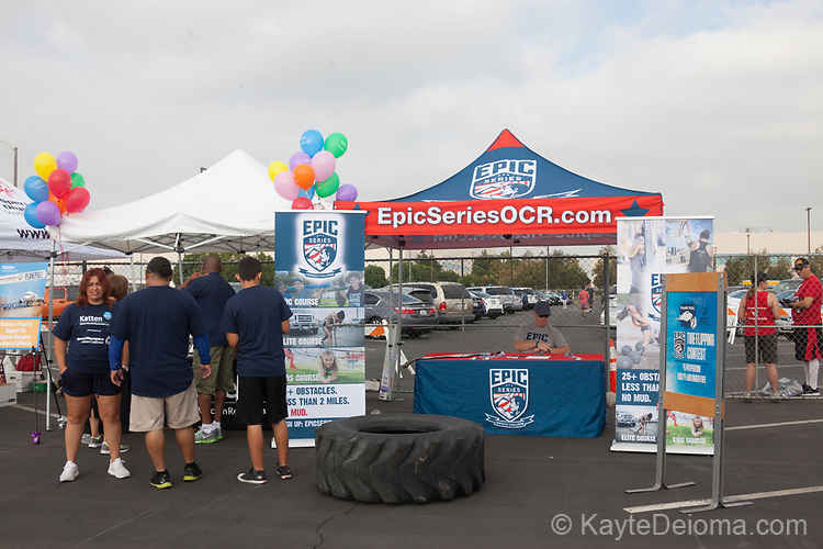 August 19, 2017 - Special Olympics Southern California Plane Pull at the Long Beach Airport in Long Beach, California. teams of 25 people compete to see who can pull a FedEx airplane 12 feet the fastest. The event raises funds for Special Olympics Southern California.