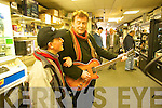 Tralee Singer Songwriter Francie Conway with his son josh   Copyright Kerry's Eye 2008