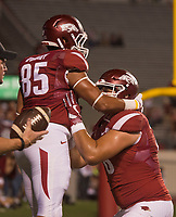 Hawgs Illustrated/BEN GOFF <br /> Arkansas vs Florida A&M Thursday, Aug. 31, 2017, at War Memorial Stadium in Little Rock.