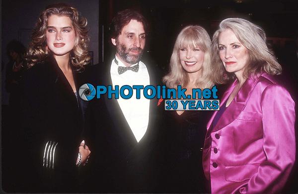 Brooke Shields Ron Silver <br /> Loretta Swit Betty Buckley 1990<br /> Photo By Adam Scull/PHOTOlink.net