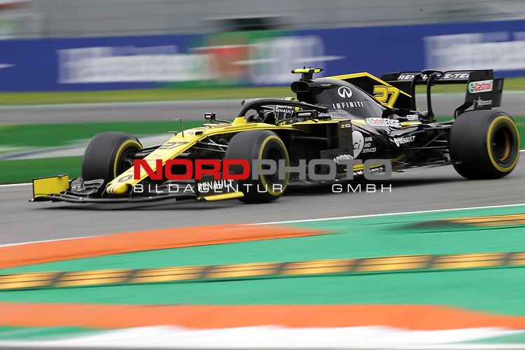 06.09.2019, Autodromo Nazionale di Monza, Monza, FORMULA 1 GRAN PREMIO HEINEKEN D'ITALIA 2019<br />,im Bild<br />Nico Hülkenberg (GER#27), Renault F1 Team<br /> <br /> Foto © nordphoto / Bratic