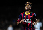 Barcelona. Spain. 12/03/201. football match between fc barcelona and manchester city.<br /> Neymar