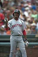 Pedro Martinez. Boston Red Sox vs San Francisco Giants. San Francisco, CA 6/19/2004 MANDATORY CREDIT: Brad Mangin