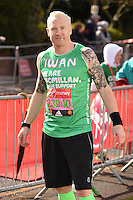 Iwan Thomas<br /> at the start of the 2016 London Marathon, Blackheath, Greenwich London<br /> <br /> <br /> &copy;Ash Knotek  D3108 24/04/2016