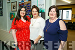 At the Castleisland Community College 30th celebration on Friday were Alison McGaley, Noreen Barrett, Catherine McGaley